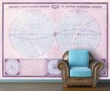 Double Hemisphere - 1862 Tableau Moderne - Berry Self-Adhesive Wallpaper