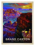 KC NP Grand Canyon Sunset