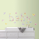 Kathy Davis Baby Butterflies Peel and Stick Wall Decals