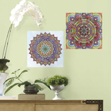 Mandala Peel and Stick Color Your Decal