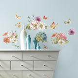 Lisa Audit Garden Bouquet Peel and Stick Wall Decals
