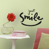 Kathy Davis Just Smile Peel and Stick Wall Decals