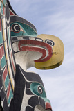 Canada  British Columbia  Vancouver Island Thunderbird Above Killer Whale