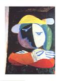 Femme au Balcon Reproduction d'art par Pablo Picasso