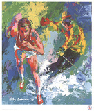 Olympic Skier and Runner