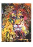 Lion Reproduction d'art par LeRoy Neiman