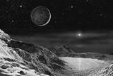 Pluto And Charon - Noir