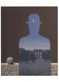 L'Heureux Donateur Reproduction d'art par Rene Magritte