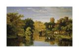 Warwick Castle  England  1857