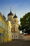Estonia  Tallinn View of Alexander Nevsky Cathedral