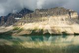 Approaching Storm  Bow Lake  Banff National Park  Alberta  Canada