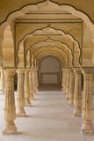 India  Rajasthan  Jaipur Amber Fort Arches