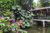 Garden Waterfall  Panxi Restaurant  Lichi Bay  Guangzhou  China