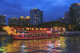 Dinner Cruise Along Pearl River Enjoying Guangzhou Skyline  China