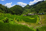 Bangaan in the Rice Terraces of Banaue  Northern Luzon  Philippines