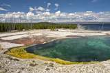 Abyss Pool  West Thumb Geyser Basin  Yellowstone National Park  Wyoming  USA