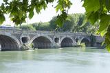 France  Toulouse  Pont Neuf Bridge over the Garonne River