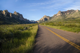 National Forest Road into the Chiricahua Mountains