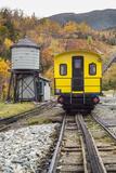 USA  New Hampshire  White Mountains  Bretton Woods  Mount Washington Cog Railway