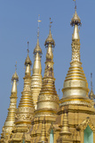 Myanmar  Yangon the Ornate Shwedagon Pagoda