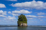 Single Rock at Coconut Point in Tutuila Island  American Samoa  South Pacific