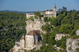 Medieval Town of Rocamadour  Lot Valley  Midi-Pyrenees  France