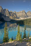 Morning  Moraine Lake  Banff National Park  Alberta  Canada