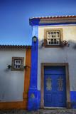 Portugal  Obidos  Colorful Building of Obidos