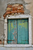 Old and Colorful Doorways and Windows in Venice  Italy