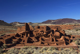 USA  Arizona  Wupatki National Monument Wupatki Pueblo  the Largest Dwelling in the Region