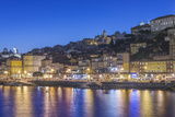Portugal  Porto  Douro Waterfront Twiligh