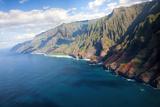 USA  Hawaii  Kauai  Aerial of the Na Pali Coastline