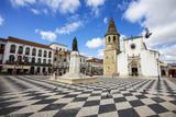 Portugal  Tomar  Main Square of Tomar During Festival the Festa Dos Tabuleiros