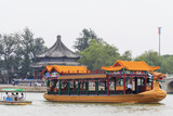 Summer Palace  on Kunming Lake  World Heritage Site  Near Beijing  China