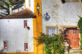 Portugal  Obidos  Colorful Building