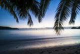 Sunset over the Beach  Naviti  Yasawa  Fiji  South Pacific