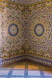 Morocco  Agdz  the Kasbah of Telouet  Zelij Moroccan Tile Work