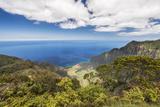 Hawaii  Kauai  Kokee State Park  View of the Kalalau Valley from Kalalau Lookout