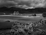USA  California  Mono Lake Tufas after Dusk