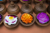 Traditional Handicrafts  Intricately Carved Soap to Look Like Tropical Flowers