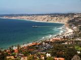 USA  California  La Jolla View of La Jolla Shores and Scripps Pier