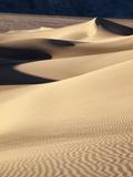 USA  California  Death Valley National Park  Morning Sun Hits Mesquite Flat Dunes