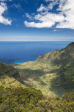 Hawaii  Kauai  Kokee State Park  View of the Kalalau Valley from Pu'U O Kila Lookout