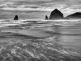 USA  Oregon  Cannon Beach  Haystack Rock and the Needles