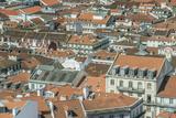 Portugal  Lisbon  Baixa Rooftops from Sao Jorge Castle