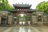 Summer Rain  Decorative Front Entry Gate  Foshan Ancestral Temple  Foshan  Near Guangzhou China