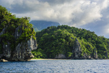 The Cliffs around Puerto Princessa Underground River  Palawan  Philippines