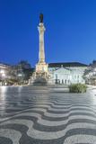 Portugal  Lisbon  Rossio Square at Dawn