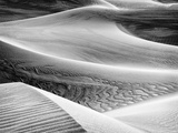 USA  California  Death Valley National Park  Close-Up View of Mesquite Flat Dunes
