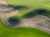 Washington  Palouse  Whitman County Aerial of Palouse Region